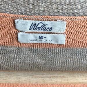 Madewell Sweaters - Madewell Wallace Striped Boyfriend Cardigan Orange